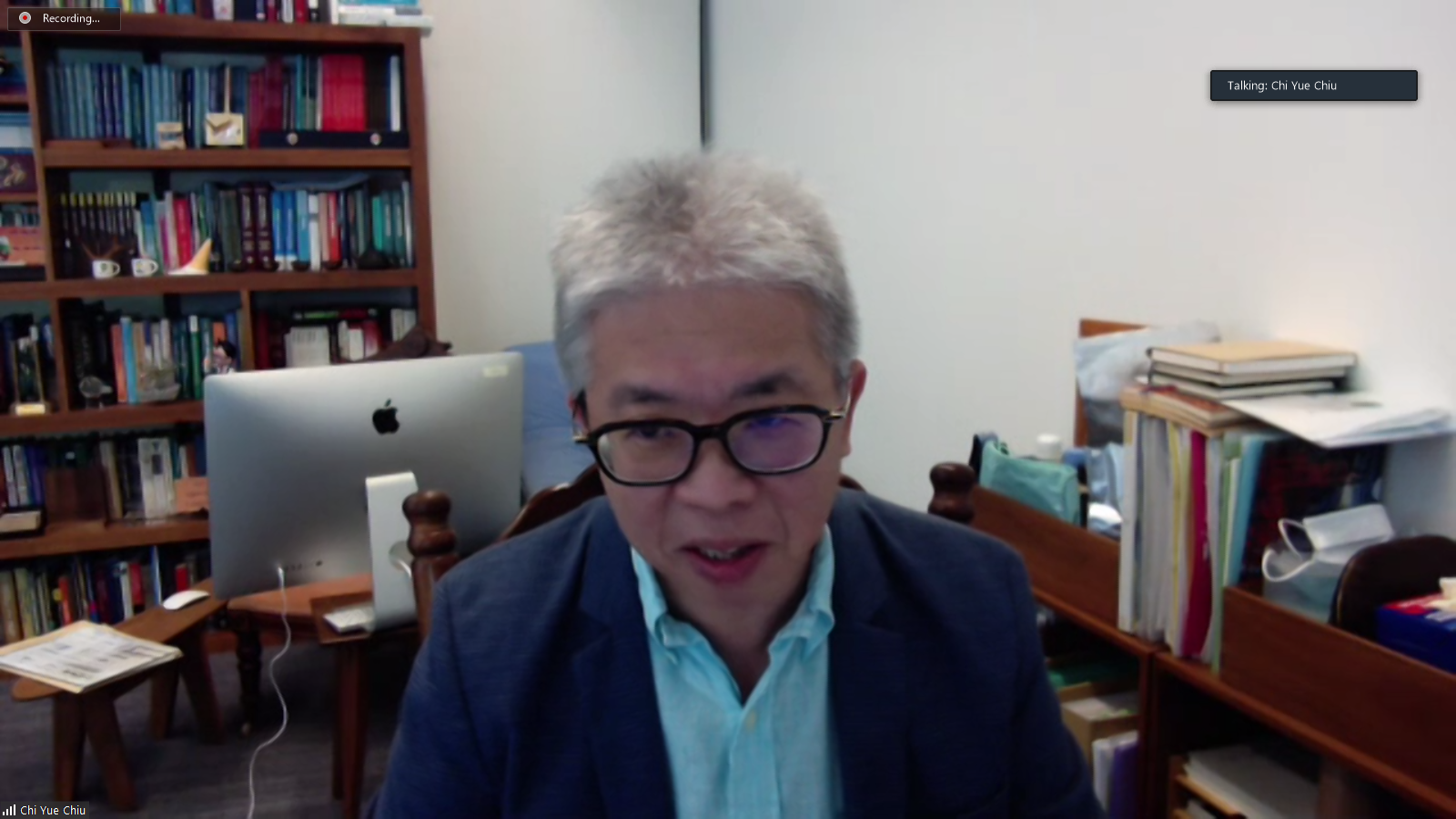 2 Opening Address Prof. Chiu Chi Yue