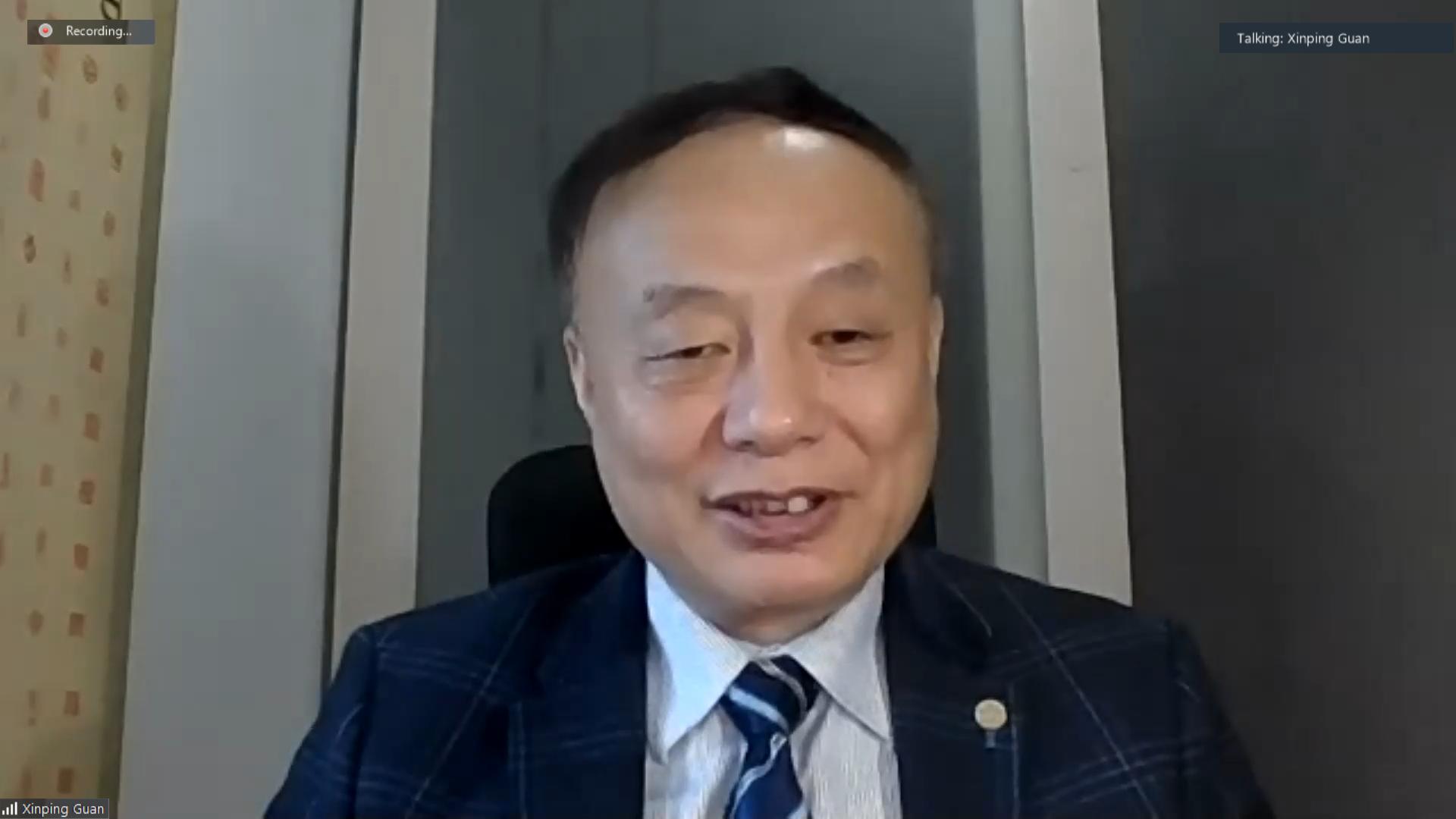 3 Keynote Presentation Prof. Guan Xinping