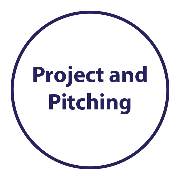 project and pitching
